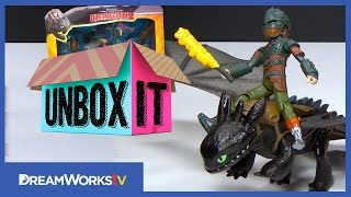 How to Train Your Dragon 2 Power Dragon Attack Set Unboxing with Kristine from BrickQueen | UNBOX IT