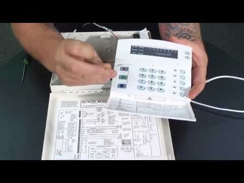 hqdefault how to assemble a nx series control panel youtube caddx nx 8 wiring diagram at cos-gaming.co