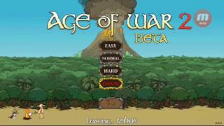 UNA GUERRA COMIENZA!/Age Of War 2 (Beta android) parte 1