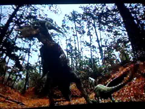 Edmontosaurus VS Raptors/ T-Rex pt.1