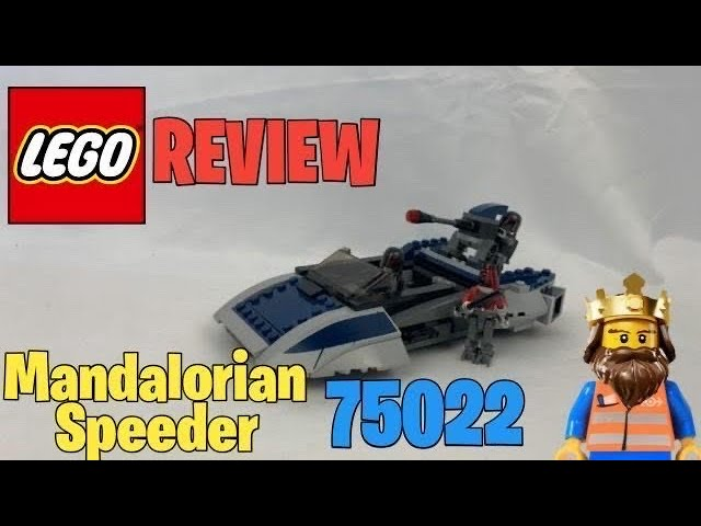 LEGO ® STAR WARS Mandalorian Speeder 75022 REVIEW