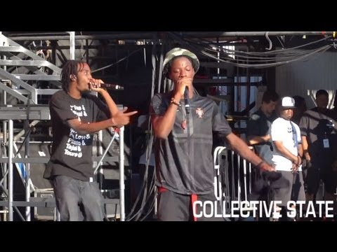 """Pro Era - """"Like Water"""" & """"Survival Tactics"""" Live At Under The Influence of Music Tour 