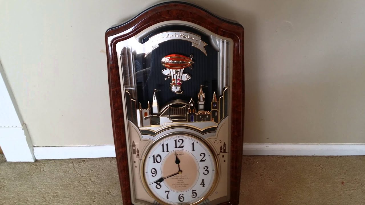 Seiko lovers castle melodies in motion clock qxm135brh youtube seiko lovers castle melodies in motion clock qxm135brh amipublicfo Images
