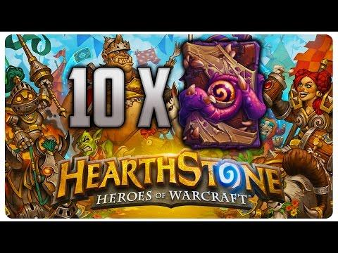Deschidem 10 Pachete | HearthStone Romania