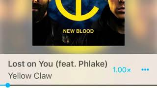 Yellow claw - lost on you (feat. Phlake)