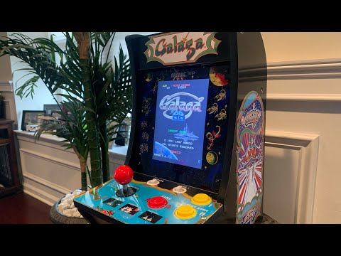 GALAGA/GALAGA '88 COUNTERCADE Arcade1up FULL REVIEW! from The 3rd Floor Arcade with Jason