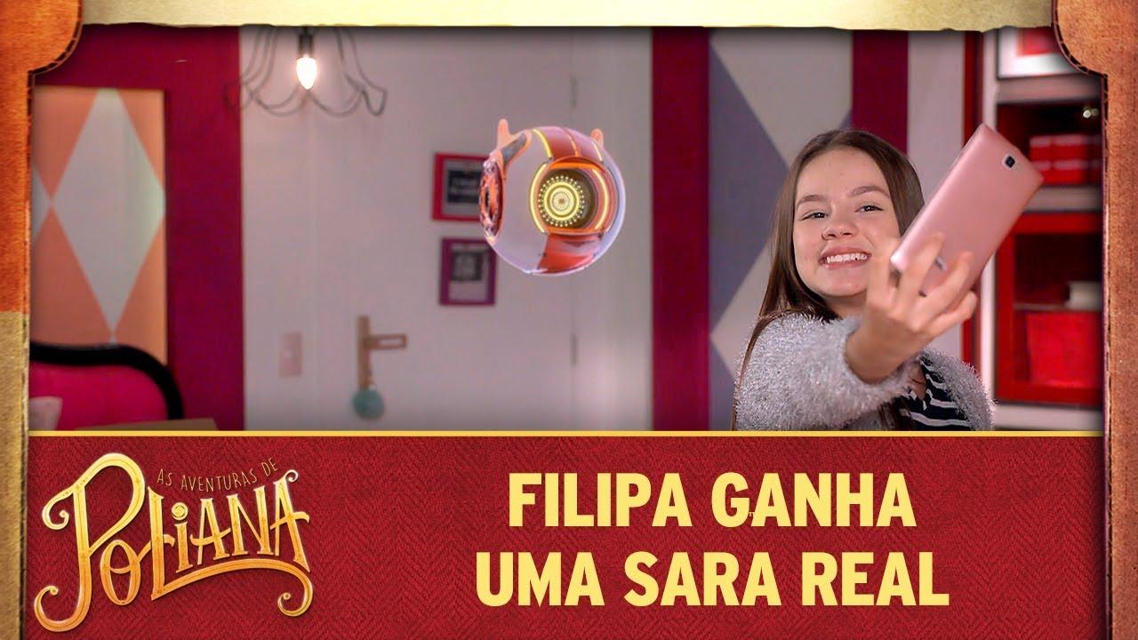 Filipa ganha uma Sara real | As Aventuras de Poliana