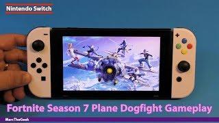 Fortnite Season 7 Plane Dogfight Gameplay