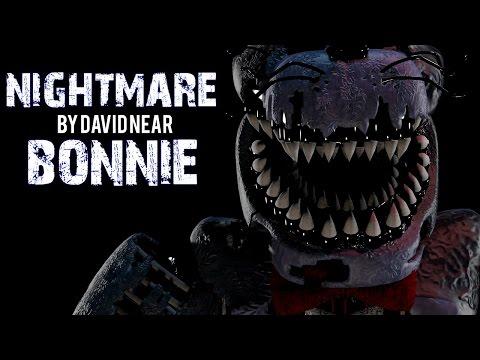 SFM FNAF - Nightmare Bonnie Voice by David Near