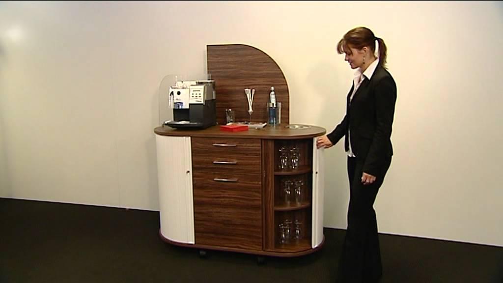 fm Büromöbel Kaffeebar - YouTube