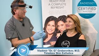 Radiesse Neck Wrinkle Injections Explained in 4K
