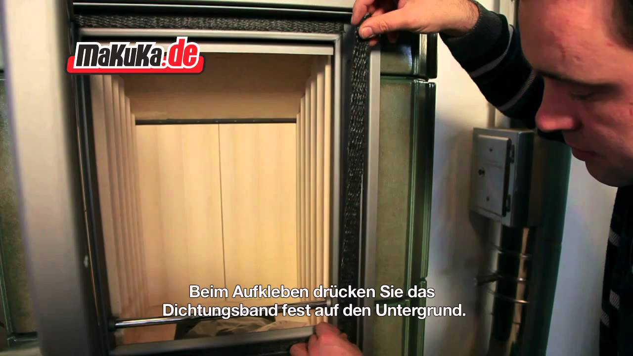 dichtungsband austauschen youtube. Black Bedroom Furniture Sets. Home Design Ideas