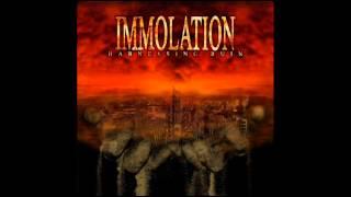 Immolation -At Mourning's Twilight