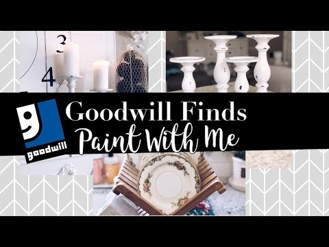 Goodwill Finds // Paint With Me