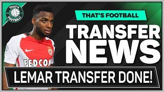 LEMAR Deal Done? STERLING To Quit MAN CITY? LATEST Transfer News