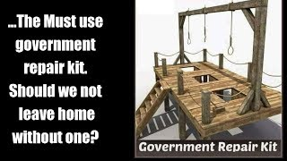 ...The Must use government repair kit  should we not leave home without one?