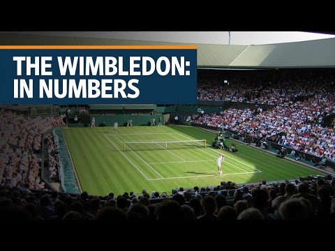 The Wimbledon: In numbers