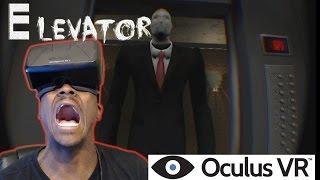 ELEVATOR | SLENDERMAN IS HERE!!! OCULUS RIFT DK2