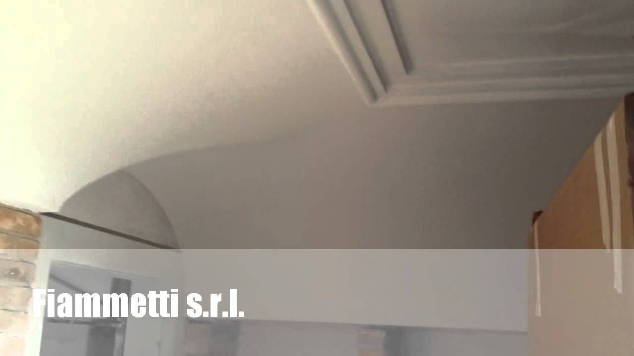 Soffitti con decori in polistirolo - YouTube