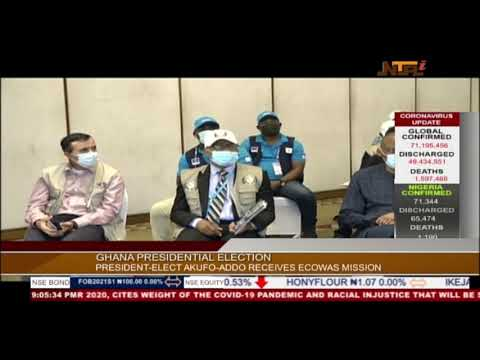 Ghana's electoral process peaceful, transparent -- ECOWAS poll observer mission