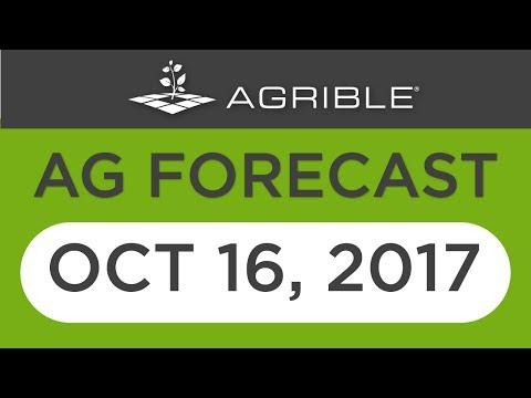 Morning Farm Report Ag Forecast - Oct 16, 2017