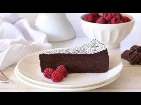 Flourless Chocolate Cake Recipe | Chocolate Torte Recipe