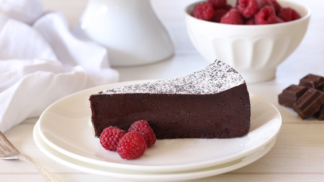 Flourless Chocolate Cake Recipe Chocolate Torte Recipe