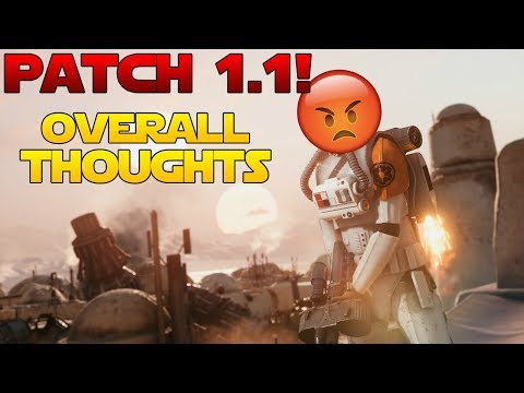 Battlefront 2 PATCH FIXES EVERYTHING! GAME IS 100X BETTER NOW!!!! jk