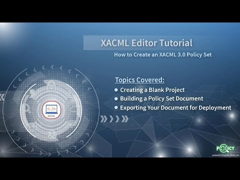 XACML Editor: Creating An XACML 3.0 Policy Set Document