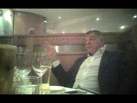 FA Open Investigation Into Sam Allardyce Following Undercover Sting Operation