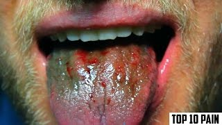 Repeat youtube video Top 10 Most Painful Eating Challenges