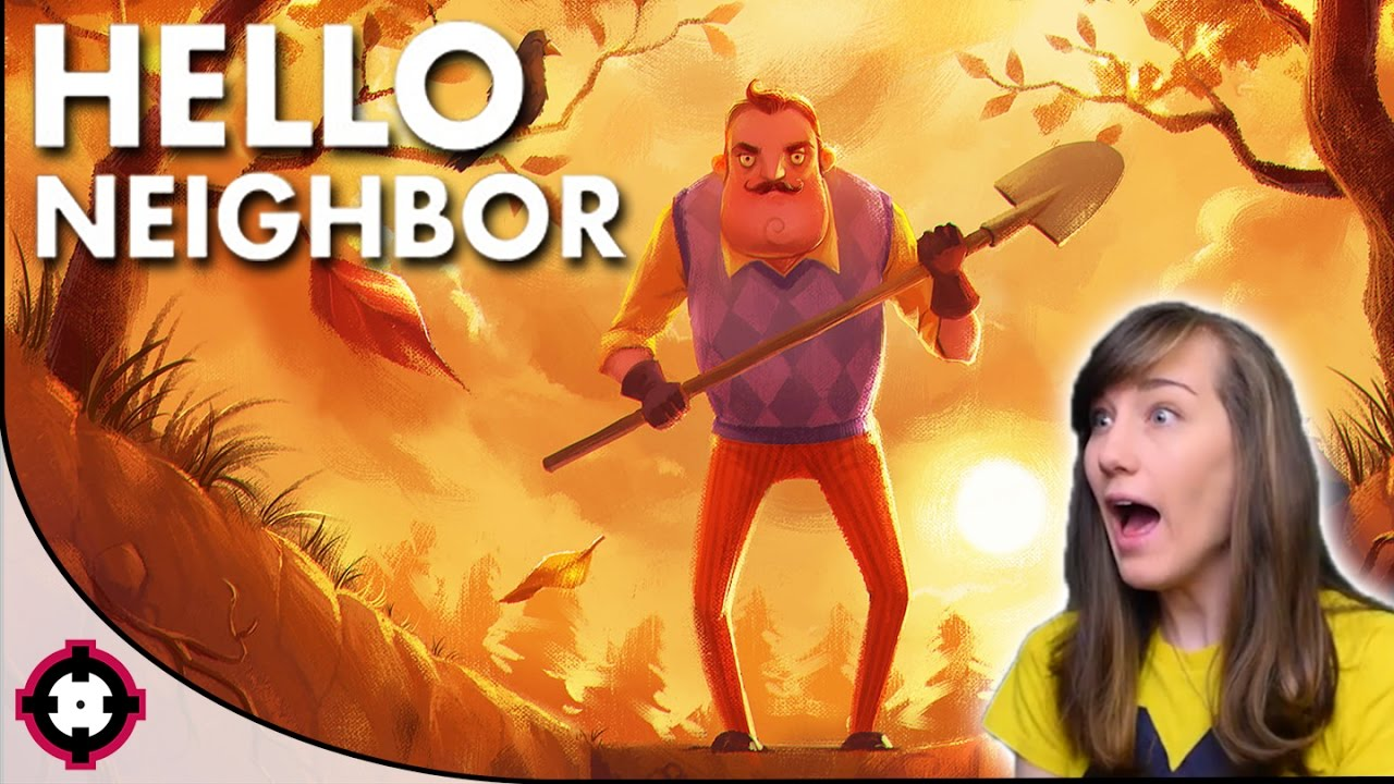Hello Neighbor Gameplay Pc New Stealth Horror Game Youtube
