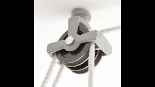 Deluxe Double Pulley - Code I419 - www.castinstyle.co.uk