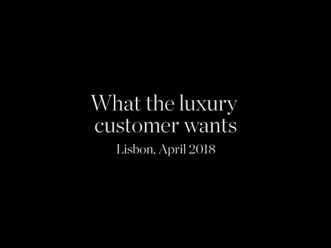 What the Luxury Customer Wants | Federico Marchetti at CNI Luxury 2018 | YOOX NET-A-PORTER GROUP