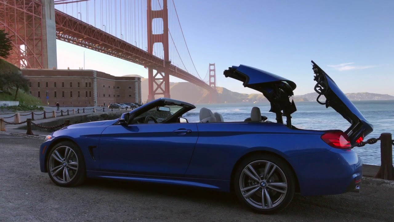 Bmw 440i Convertible Top Demo