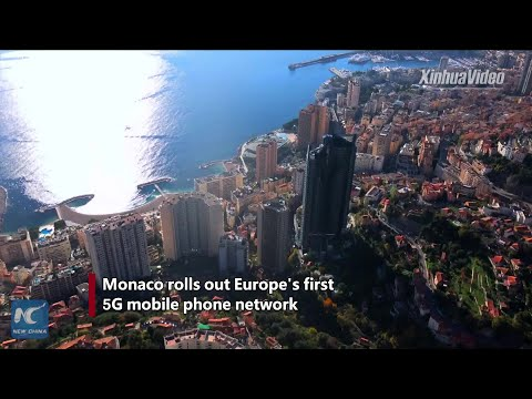 Monaco Rolls Out Europe's First Huawei-built 5G Network