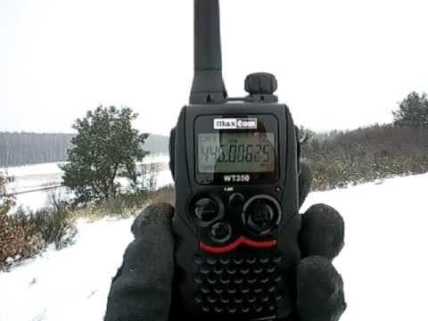 Ogromnie MaxCom WT350 - Bałczyna 278 m n.p.m - YouTube JK35