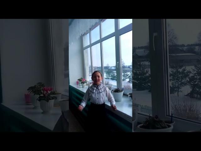 Изображение предпросмотра прочтения – АнастасияИванова читает произведение «Весенние воды (Еще вполях белеет снег…)» Ф.И.Тютчева