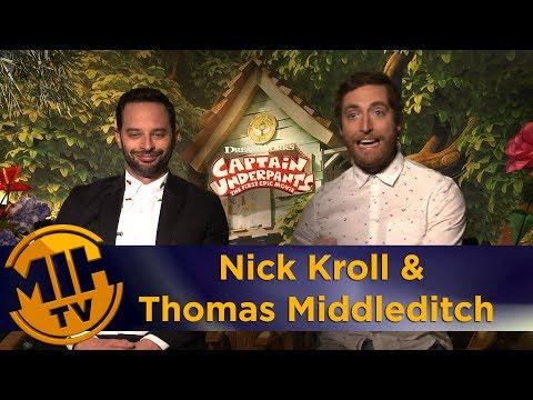 Captain Underlants interview Nick Kroll & Thomas Midleditch