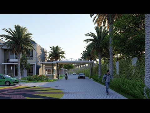 LUMION 8 ANIMATION : TIRTA KIRANA HOUSING ESTATE