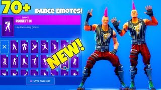 *NEW* RIOT Skin with ALL Fortnite DANCE EMOTES..!