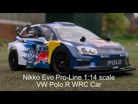 Nikko Evo Pro-Line RC 1:14 scale VW Polo R WRC Car