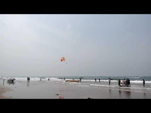 Kiran Rathod enjoyment in Goa ebiz.com