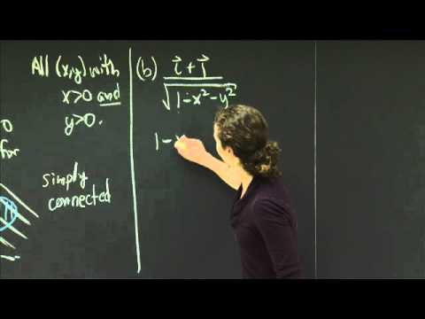 Domains of vector fields | MIT 18.02SC Multivariable Calculus, Fall 2010