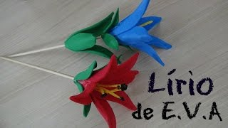 Lírio de E.V.A. por Flores e Flores