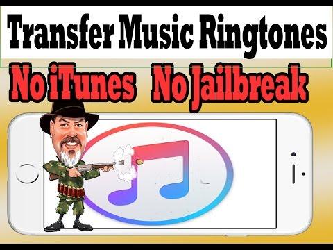 Transfer Music, Movies, Ringtones Without Using iTunes No Jailbreak #iPhonecaptaingiveaway