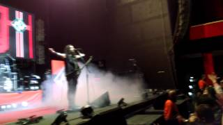 Bogotá pidiendo The blood, the sweat, the tears - Machine Head Colombia