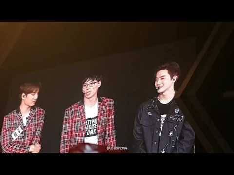 160911 EXO'rDIUM in BKK EXO & 유재석 - Ment after Dancing King