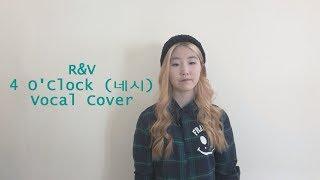 Video R&V (BTS) - 4 O'Clock (네시) Vocal Cover download MP3, 3GP, MP4, WEBM, AVI, FLV Mei 2018