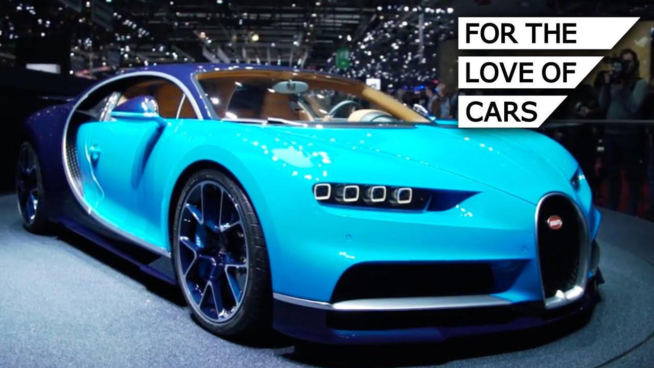 Bugatti Chiron: The Fastest Production Car In The World ...